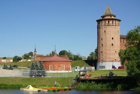 KOLOMNA, RUSSIA - June 12, 2014: Marina tower of Kolomna Kremlin