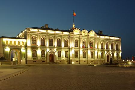kazan: KAZAN, RUSSIA - May 08, 2014: Kazan Kremlin in the evening Editorial