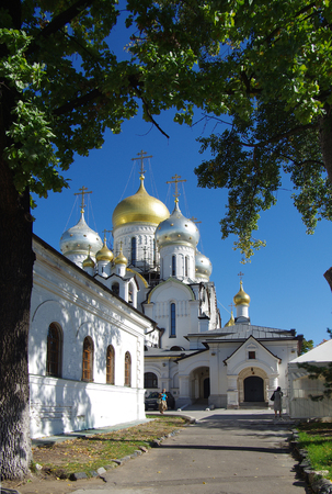 convent: MOSCOW, RUSSIA - September 21, 2015: Conception Convent in autumn day Editorial