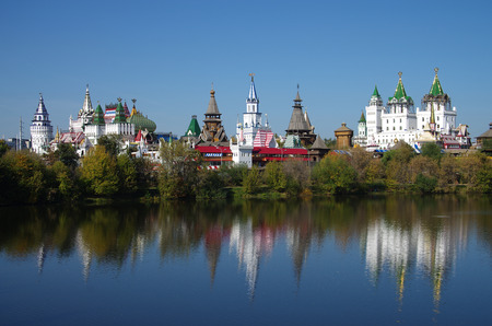 MOSCOW, RUSSIA - September 23, 2015: The Kremlin in Izmaylovo