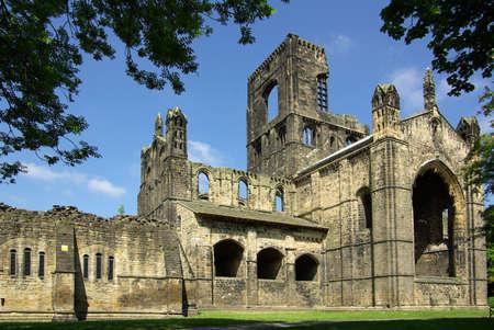 britannia: LEEDS, YORKSHIRE, UK - June 6, 2013: Kirkstall Abbey