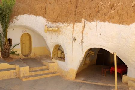 matmata: TUNISIA, AFRICA - August 03, 2012: Scenery for the film Star Wars
