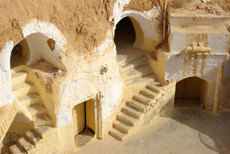 star wars: TUNISIA, AFRICA - August 03, 2012: Scenery for the film Star Wars