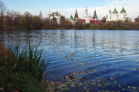 MOSCOW, RUSSIA - October, 2015: The Kremlin in Izmaylovo Editorial