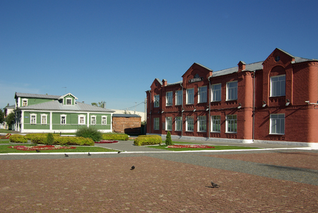 jule: KOLOMNA, RUSSIA - Jule, 2014:  School in the town of Kolomna Editorial