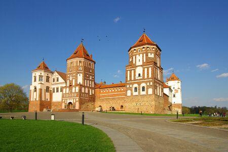 belarus: MIR, BELARUS - May, 2013: Mir Castle Complex. Belarus