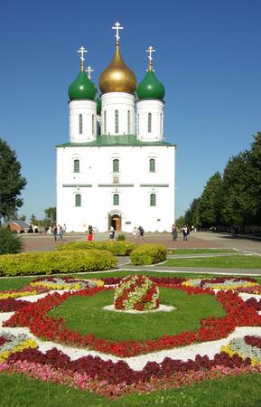 jule: KOLOMNA, RUSSIA - Jule, 2014: The Assumption Cathedral in Kolomna