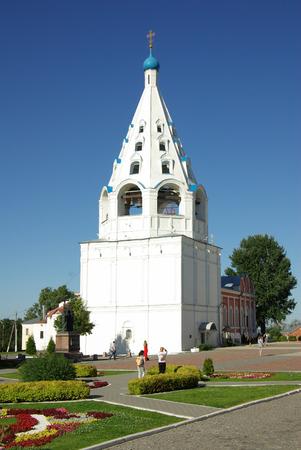 jule: KOLOMNA, RUSSIA - Jule, 2014:  View of historical center in Kolomna