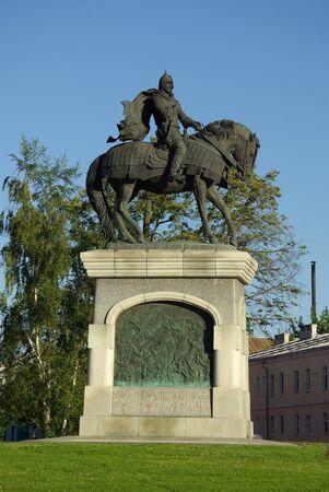 jule: KOLOMNA, RUSSIA - Jule, 2014: The monument to Dmitry Donskoy in Kolomna