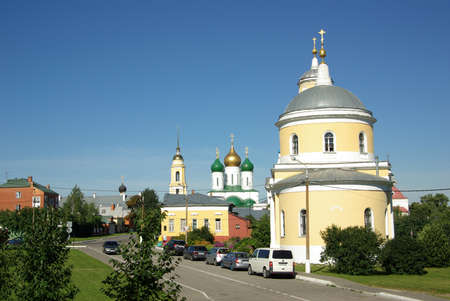 exaltation: KOLOMNA, RUSSIA - Jule, 2014:  The Church Of The Exaltation Of The Cross Editorial