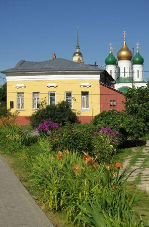 jule: KOLOMNA, RUSSIA - Jule, 2014: Mozgova house on the street Lazarev