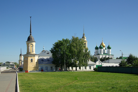 jule: KOLOMNA, RUSSIA - Jule, 2014: Great monasteries of Russia. Novo-Golutvin Holy Trinity Monastery Editorial