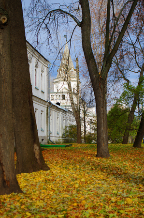 izmaylovskiy: MOSCOW, RUSSIA - October, 2015: The Estate Of The Romanovs In Izmailovo