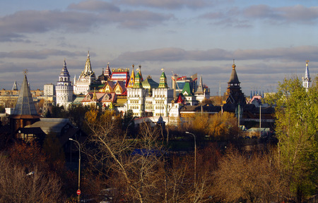 izmaylovskiy: MOSCOW, RUSSIA - October, 2015: The Kremlin in Izmaylovo Editorial