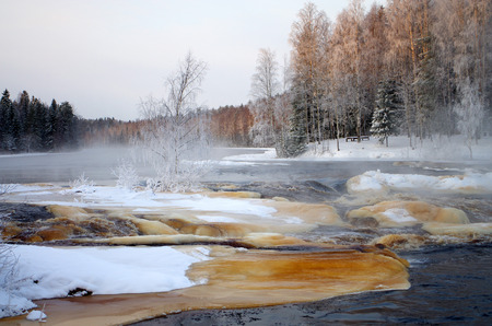 karelia: Rapids on the Shuya River in Karelia, Russia