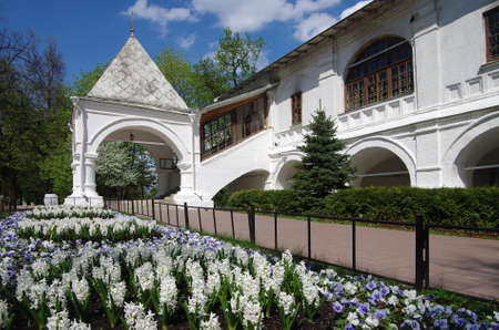 MOSCOW, RUSSIA - MAY, 2016: Kolomenskoye Estate in spring day