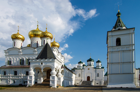 KOSTROMA, RUSSIA - July, 2016: Ipatyevsky Monastery in summer day Stock Photo