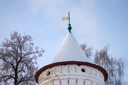 KOSTROMA, RUSSIA - January, 2017: Ipatyevsky Monastery in winter day