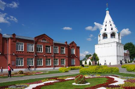 KOLOMNA, RUSSIA - June, 2017:  View of historical center in Kolomna