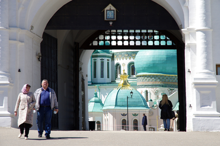 ISTRA, RUSSIA - May, 2017: The New Jerusalem Monastery, also known as the Voskresensky Monastery