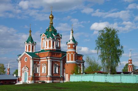 KOLOMNA, RUSSIA - May, 2017: Uspensky Brusensky monastery 新聞圖片