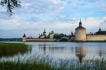 KIRILLOV, RUSSIA - August, 2017: Kirillo-Belozersky monastery near City Kirillov, Vologda region, Russia