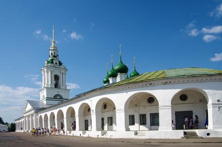 KOSTROMA, RUSSIA - July, 2016: Shopping arcade in Kostroma