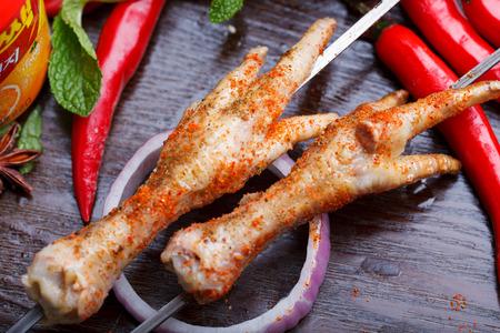 garra: Pollo asado garra, sabor de Sichuan