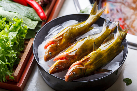 dialect: Fish, Chinese Hot pot dishes