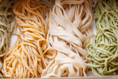 asian food: Chinese food, thin egg noodles