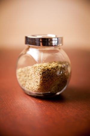spices in bottle