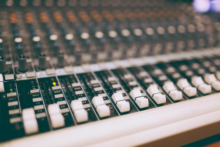 Professional mixers with retro tone