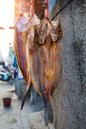 Salted fish, carp is Chinese often eat fish