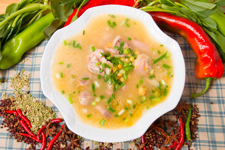 trotters: Pigs trotters soup, Chinese food