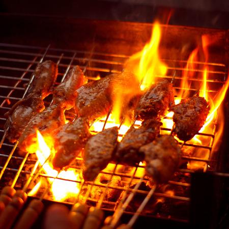 alitas de pollo: Alitas de pollo barbacoa