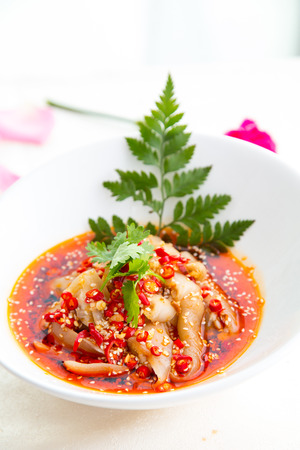 trotters: Sichuan cuisine, spicy pigs trotters