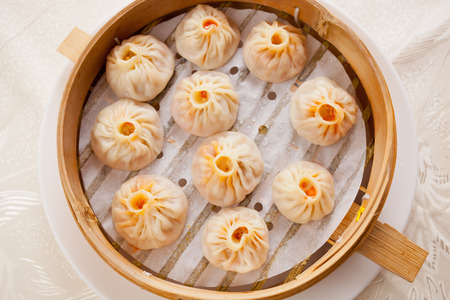 Chinese traditional food dumpling Фото со стока