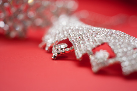 A diamond crown, wedding jewelry photo