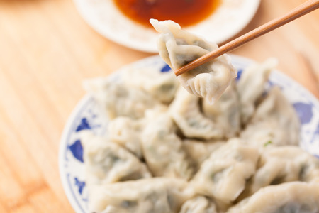 Boiled dumplings, China festival food