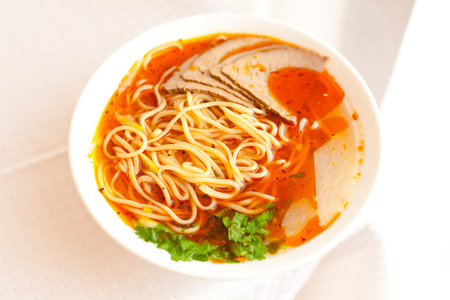 Lanzhou ramen, a popular Chinese pasta Фото со стока - 31441529