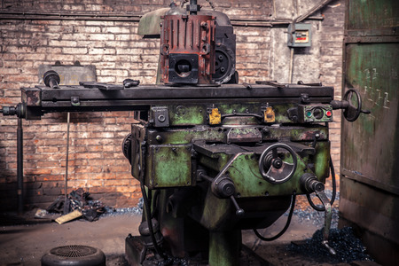 The old machine tool equipment photo