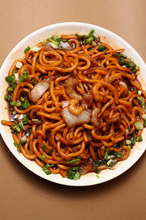 independent mongolia: Thai and Chinese Food Chow Mein Shimp