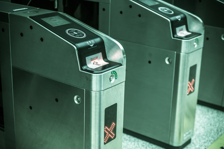 ticket validation machines photo