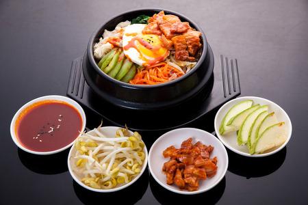 korean food: Bibimbap, Korean food