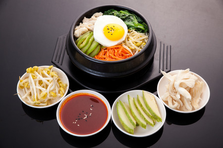 Bibimbap, Korean food