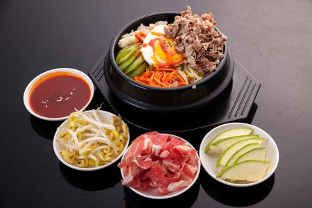 Bibimbap, Korean food