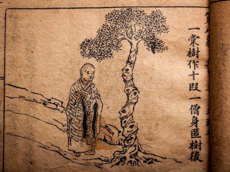 A very old Chinese divination book, Tui Bei Tu, Ming Dynasty