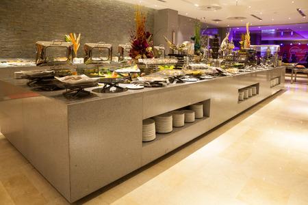 hurrying: Buffet restaurant, the hotel restaurant