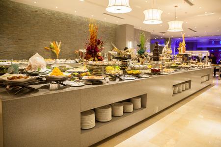 postres: Restaurante buffet, el restaurante del hotel