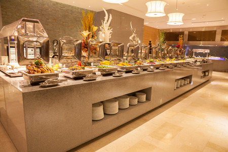 Buffet restaurant, the hotel restaurant